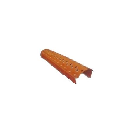 Větrací pás kartáčový 20x1000 mm (červený)