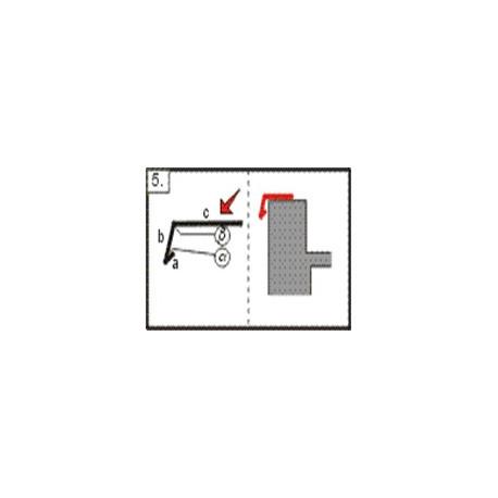 Lišta atiková - okapnice, 2m (r.š. 150 mm)
