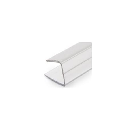 Polykarbonátový ukončovací profil 8mm (dl.2000 mm)