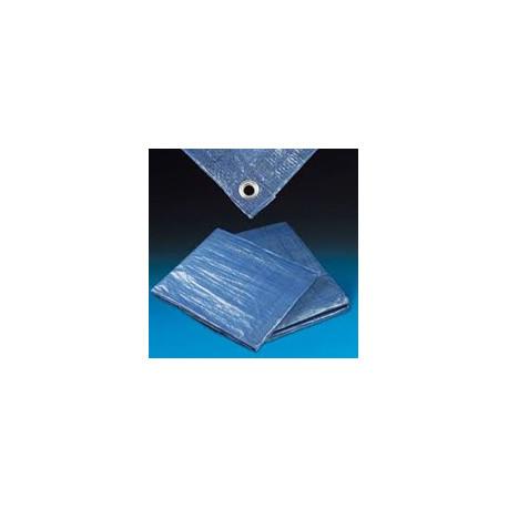 Zakrývací plachta s oky, 80g (6x8 m)