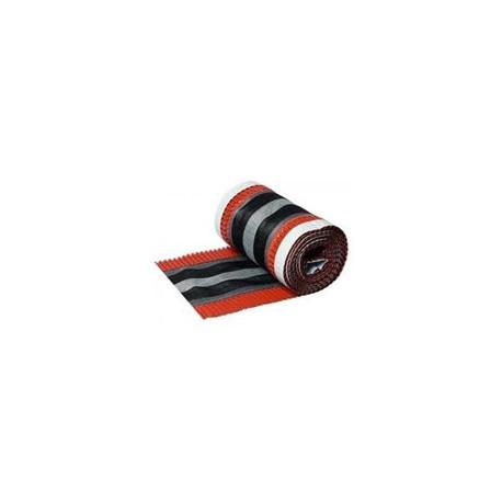 Větrací pás hřebene a nároží 31 mm x 5 m (červený)