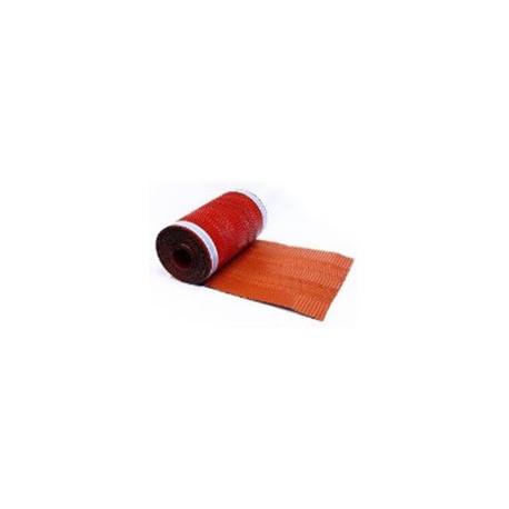 Větrací pás hřebene celohliníkový 31 mm x 5 m (hnědý)